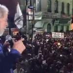 Multidão recebe Lula em Sergipe. Assista