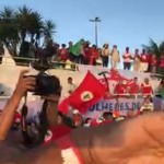 Lula cruza o São Francisco. Sem cenas de cinema. Só povo, povo, povo