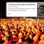 Direita sem voto fantasia um Lula sem povo. Assista e confira