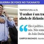 """A guerra tucana avança: """"Dória traidor"""""""