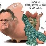 Geddel vai preso. Será que vai dizer que o dinheiro era de Lula?