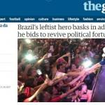 Quer ler sobre Lula no Nordeste? Compre jornal europeu
