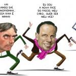 Dória não entendeu que, como troglodita, Bolsonaro é melhor que ele