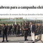 Bolsonaro é um apelo à subversão e uma vergonha para os chefes militares