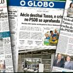 O anúncio fúnebre do PSDB
