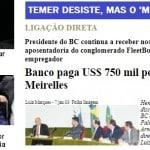 Meirelles age como candidato, esnoba Temer e promete reforma