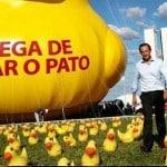 O pato do Skaf era para você ser pato e pagar a candidatura dele. Assista