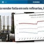 Temer quer levar desmonte da Petrobras às refinarias