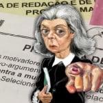 """A """"nota mil"""" na redação de Carmem Lúcia, por Gustavo Conde"""