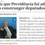 """Temer diz que adiou votação para """"não constranger deputados"""". Cinismo total"""