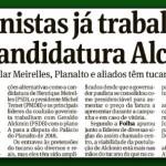 A 'coerência' de Alckmin: saímos do Governo, mas apoiamos o Governo