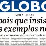 """Waack? Não, a autocrítica do dia é a de """"O Globo"""""""