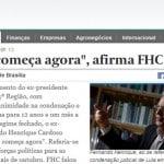 A decrepitude ética de Fernando Henrique