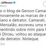 """Os instintos de Jefferson e a """"batata"""" da Doutora Cármem"""
