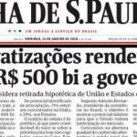 A manchete da Folha e as perguntas que nunca fazem