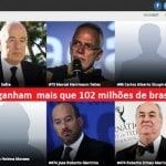 5 por 102 milhões. A balança da riqueza no Brasil