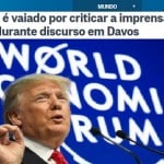 O que pode explicar a vaia a Trump em Davos