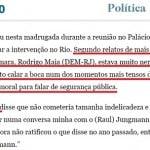 """O triste fim de Torquato Jardim: """"cala a boca"""" ou """"não se mete?"""""""