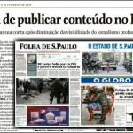 """Folha vs. Facebook. Quem mandou transformar jornal em """"meme""""?"""
