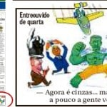 Jato 'BNDES' de Huck, enfim, sai n'O Globo. Mas só na charge do Chico