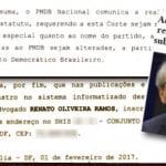 """PMBD perde o """"P"""", de pudor, e vira MDB via advogado de Cunha"""