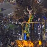 O samba responde ao selvagem