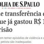 """PF """"mama"""" diárias e bota a culpa em Lula por gasto de R$150 mil?"""