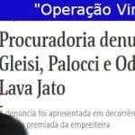 Nova denúncia contra Lula é reação da PGR a seu descrédito