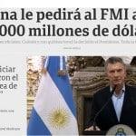 Argentina, de novo, bate às portas do FMI