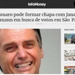 Janaína Paschoal + Joyce Hasselman é a chapa de Bolsonaro em SP?