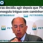 """Petrobras """"avisou"""" a Temer que ia baixar preço. Faça-nos rir..."""