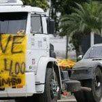 Governo recorre ao Exército contra caminhoneiros