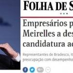 """Banqueiros querem o """"chama o Meirelles"""", que não funciona. """"Chama o Lula"""" é que deu certo"""