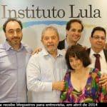 """Lula aos blogs: """"lutem o bom combate"""""""