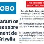 """Briga da Globo com Crivella é a do Diabo com o """"Coisa Ruim"""""""