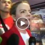Ao vivo, Gleisi fala da reação do PT a manterem Lula preso