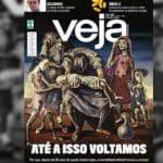A capa da Veja é ironia com a morte da sua Editora Abril?