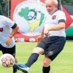 Lula, porque está ganhando, cadencia o jogo