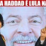 "Ao vivo, de Curitiba, Haddad recebe a missão de ""ser Lula"""