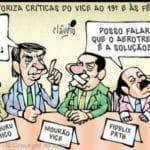 """Janaína """"manda"""" Bolsonaro ir a debate, """"com gases,com tudo"""""""