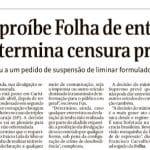 """A """"Folha"""" vai peitar ou morrer na """"peitada"""" de Fux? Streck diz como..."""