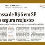 Gasolina passa de R$ 5 em SP, diz a Folha. Alguém surpreso?