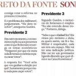 Guedes admite acordo Temer-Bolsonaro modificar Previdência