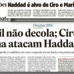 """Ameaça a Haddad não são adversários; são os """"militantes judiciários"""""""