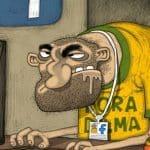 Bolsonaro, Alckmin e nanicos disputam uma eleição; Haddad/Lula, outra