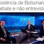 Bolsonaro é um covarde e a Globo é sua cúmplice