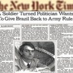 25 anos atrás, Bolsonaro dizia ao 'NYT' que queria ser um ditador
