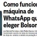 Época: a estratégia de Bolsonaro para criar rede de zumbis no 'whats'