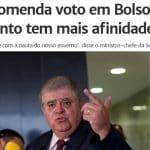 Marum, o 'brucutu' de Temer, recomenda voto em Bolsonaro