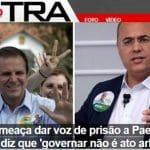 """O Doutor 'Teje Preso"""" do Bolsonaro já quer mandar 'recolher' adversário"""